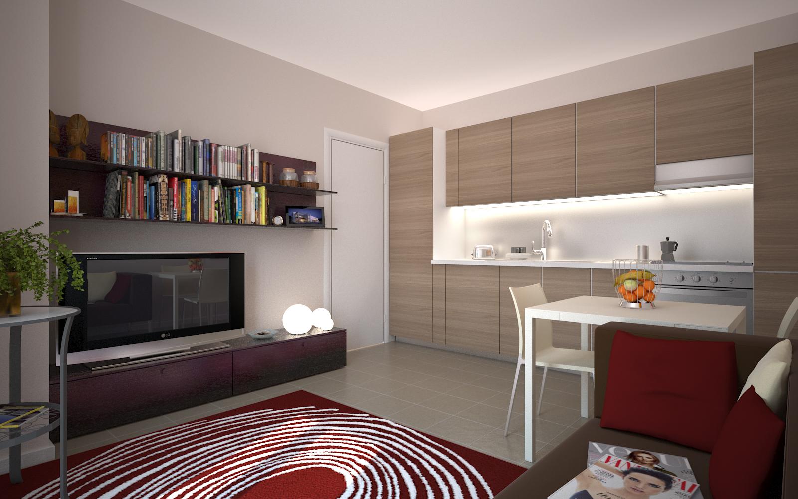Residenza esiodo appartamenti a precotto bilocali for Foto appartamenti ristrutturati moderni