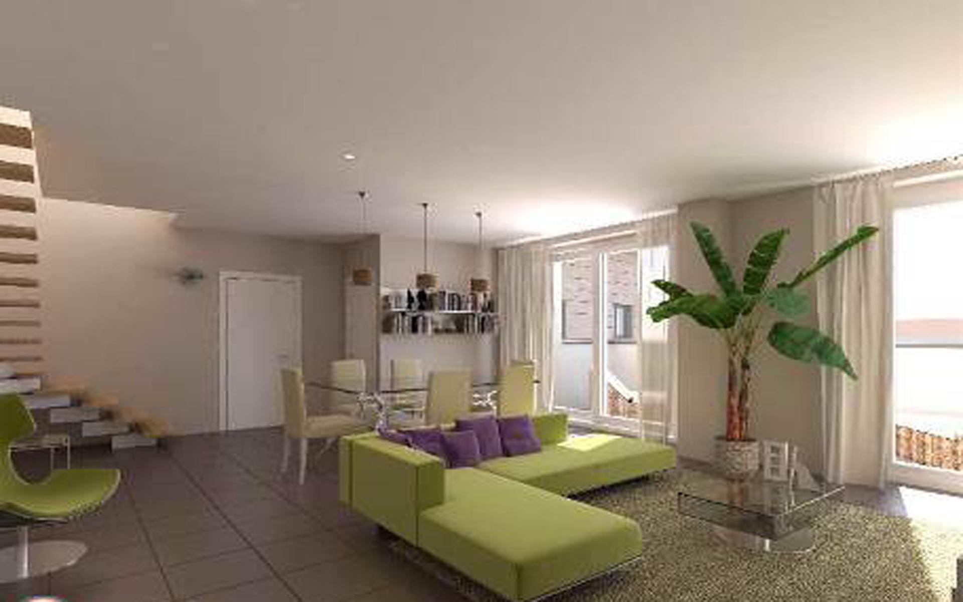 Residenza esiodo appartamenti a precotto bilocali for Immagini di appartamenti moderni
